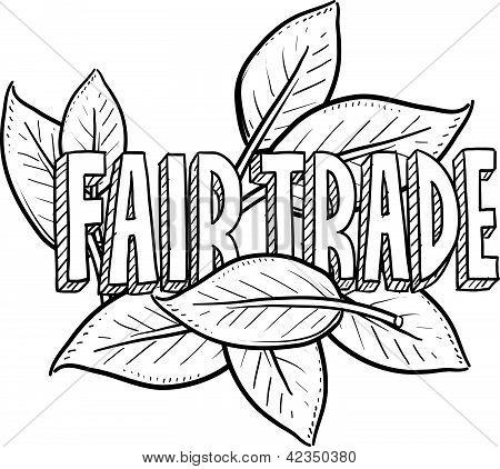 Fair trade sketch