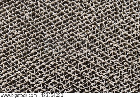 The Cardboard Cat Scratch Pad Repetitive Pattern Texture
