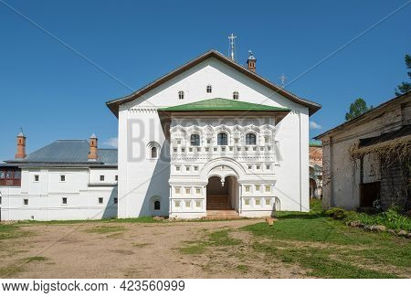 One Of The Corners In The Borisoglebsky Monastery Yaroslavl Region, Russia.
