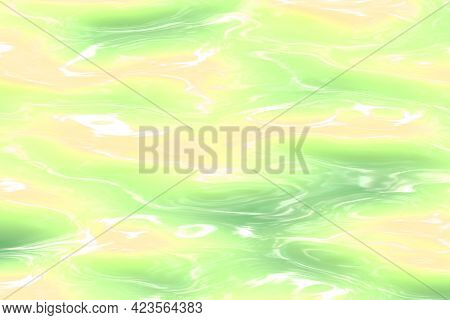 Amazing Melted Rubber Digitally Made Texture Background Illustration