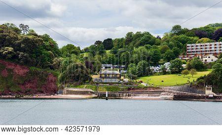 Beautiful Inner Seaside Harbour At Torquay English Riviera Devon England Uk May 29 2021