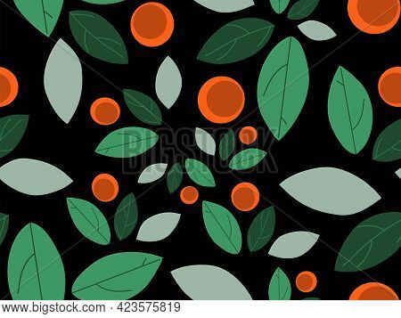 Abstract Art Nature Background Vector Illustration, Modern Shapes Art For Wall Paper Web Backdrop, S