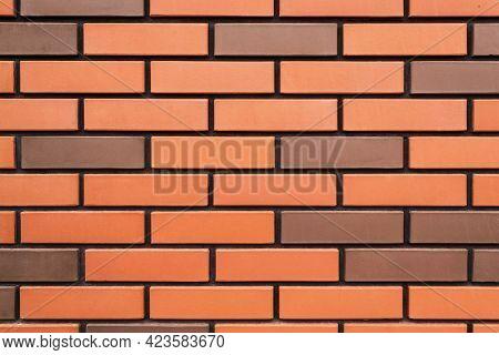 Background, Texture, Red Brick Wall, New Masonry.