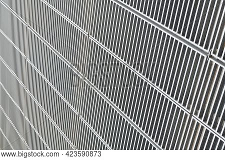 Structural Detail Of Diagonal Lines Abstract Architecture In Architectural Perspective, Structure