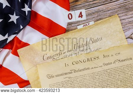 Constitution Of The United States Of America First Of The National Archives In The Constitutional Co