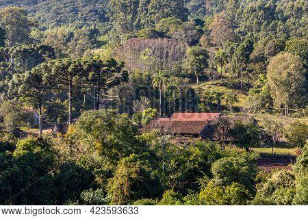 Farm House Aorund Forest, Pnhal Alto, Nova Petropolis, Rio Grande Do Sul, Brazil