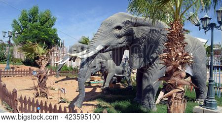 Hollywood amusement park. November 4, 2020. Sharm El Sheikh, Egypt