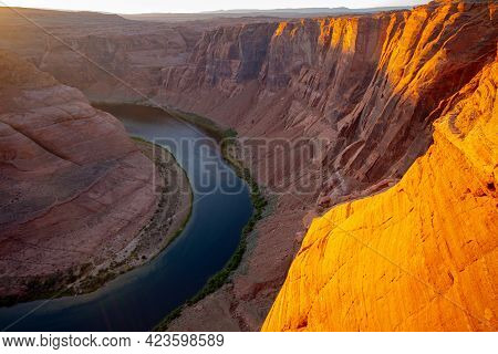 Grand Canyon National Park. American West. Red Rock Canyon Desert.