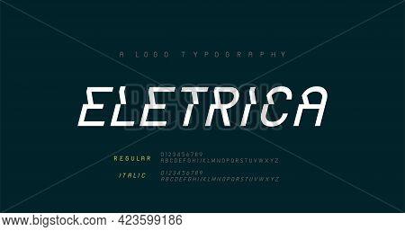 Creative Modern Urban Alphabet Fonts. Typography Sport, Game, Technology, Fashion, Digital, Future A