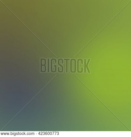 Abstract Gradient Color Background. Lime Green Color Mix With Winter Bloom Purple And Silver Lace Bl