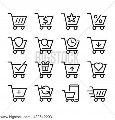 Shopping Cart icon. Shopping icon. Shopping Cart vector. Shop icon. Shopping Cart icon vector. Online Shopping icon. Online Shop icon. Shopping Cart icon logo template. Shopping Cart vector icon design for web icon, logo, sign, symbol, app UI.