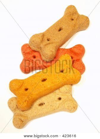 Biscoitos de cão atrapalhados