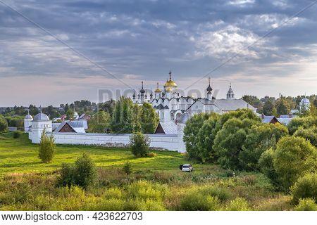 View Of Intercession Convent In Suzdal, Russia