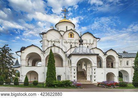 Pokrovsky Cathedral In The Intercession Convent, Suzdal, Russia