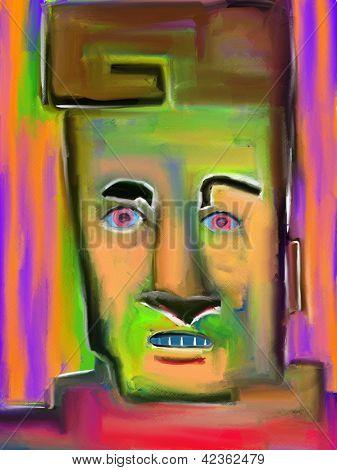 Lyle digitale Malerei