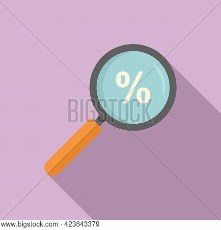 Search Bonus Icon. Flat Illustration Of Search Bonus Vector Icon For Web Design