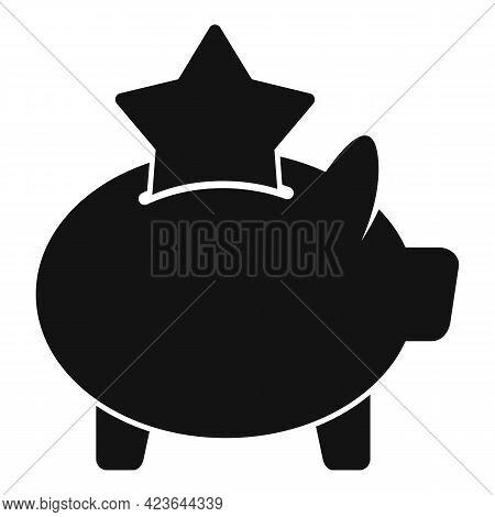 Bonus Piggybank Icon. Simple Illustration Of Bonus Piggybank Vector Icon For Web Design Isolated On