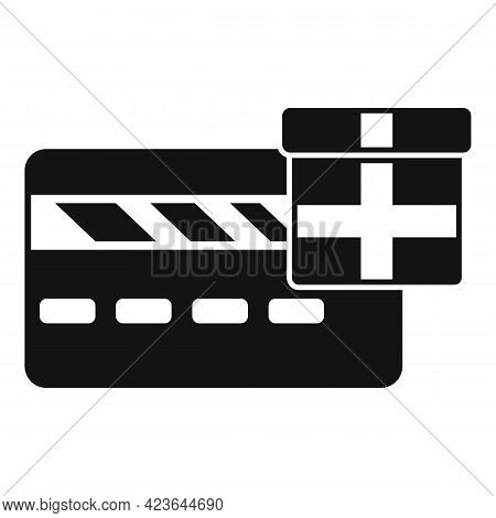 Bonus Credit Card Icon. Simple Illustration Of Bonus Credit Card Vector Icon For Web Design Isolated
