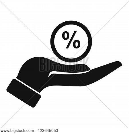 Bonus Percent Icon. Simple Illustration Of Bonus Percent Vector Icon For Web Design Isolated On Whit