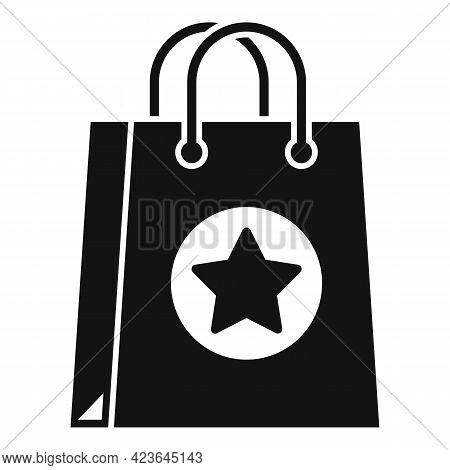 Sale Bonus Bag Icon. Simple Illustration Of Sale Bonus Bag Vector Icon For Web Design Isolated On Wh