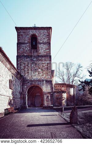 Monastery Of Villanueva De Cangas In Asturias