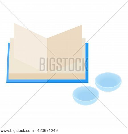 Vision Correction Icon. Isometric Illustration Of Vision Correction Vector Icon For Web
