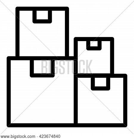 Perfectionism Parcel Icon. Outline Perfectionism Parcel Vector Icon For Web Design Isolated On White