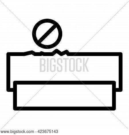 Perfectionism Addict Icon. Outline Perfectionism Addict Vector Icon For Web Design Isolated On White