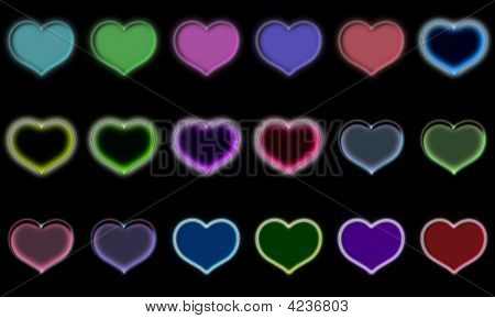 Assorted Heart Icons