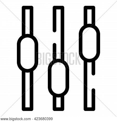 Change Search Engine Icon. Outline Change Search Engine Vector Icon For Web Design Isolated On White