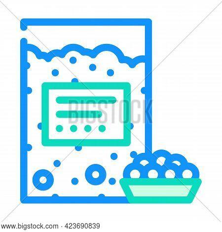 Tapioca Gluten Free Color Icon Vector. Tapioca Gluten Free Sign. Isolated Symbol Illustration
