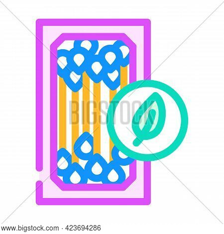 Ear Sticks Zero Waste Color Icon Vector. Ear Sticks Zero Waste Sign. Isolated Symbol Illustration