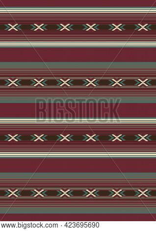 Native Indian Ornament. Tribal Vector Seamless Pattern. Ethnic South Western Decor. Boho Geometric O