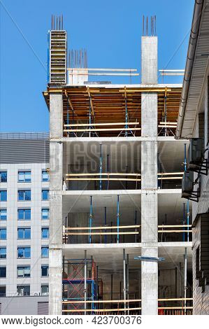 Application Of Industrial Formwork In The Concept Of Construction Of New Buildings With A Monolithic