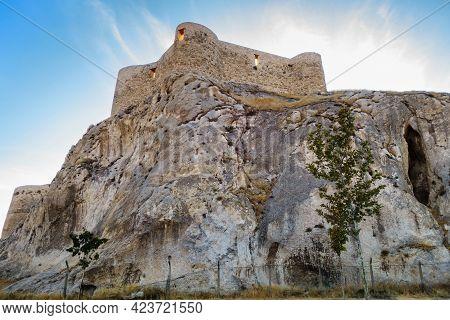 Bastions Of Van Fortress, Van, Turkey. Fortress Was Found In 9 Century Bc By Urartians On Unattackab