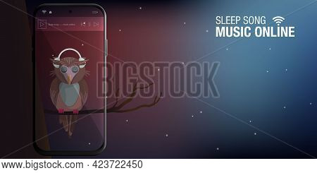 Online Music Concept Song For Sleeping Or Song To Use To Treat Insomnia Helping To Sleep For A Long