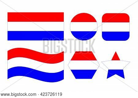 Croatia Flag Simple Illustration For Independence Day Or Election. Simple Icon For Web