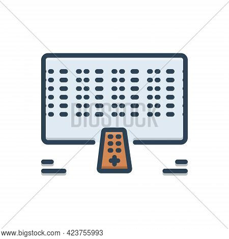 Color Illustration Icon For Fritz Cable Technology Technology Wireless