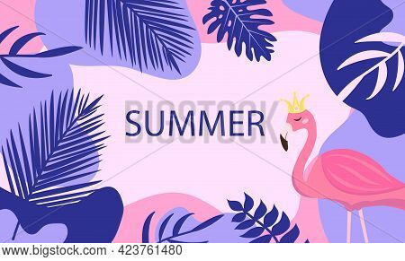 Hello Summer. Abstract Background Designs, Summer Sale Template For Your Design. Creative Contempora