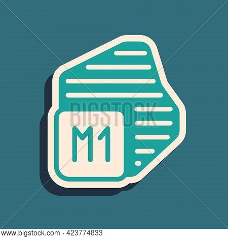 Green Processor Icon Isolated On Green Background. Cpu, Central Processing Unit, Microchip, Microcir