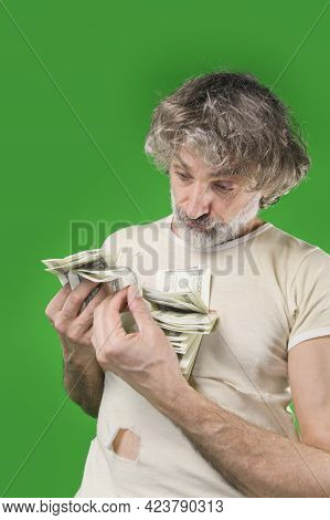 Mature Man With Lot Of Dollars, Feeling Anxious