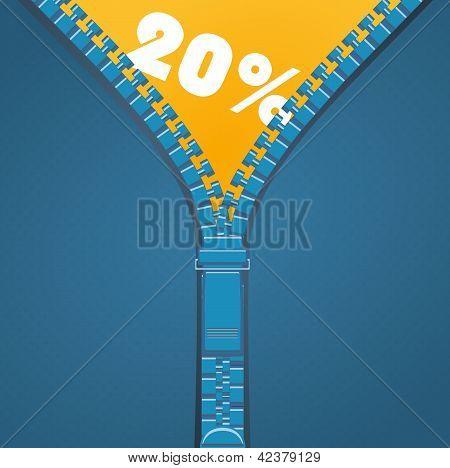 Zip - 20 percent discount