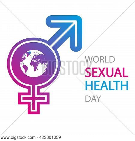 Gender Icon For World Sexual Health Day, Vector Art Illustration.