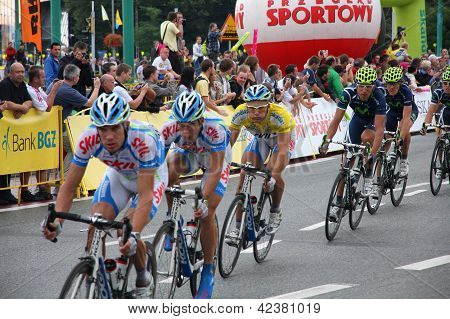Tour De Pologne Bicycle Race