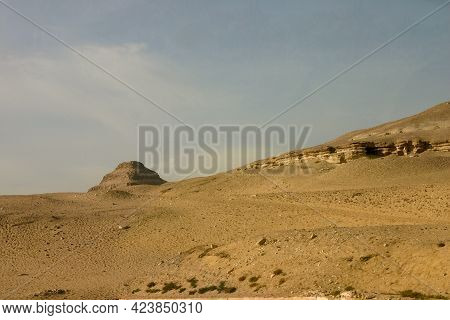 The Step Pyramid Of Joseph Or Djoser The Oldest Pyramid In Egypt Located Near Of The City Of Memphis
