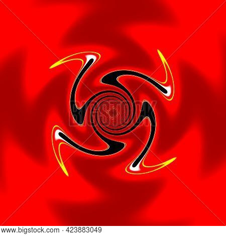 The Symbol Of The Rising Sun, Bringing Rebirth And Change.  The Eternal Circulation Of The Life Forc