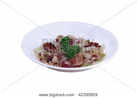 Cabbage Stew is Served