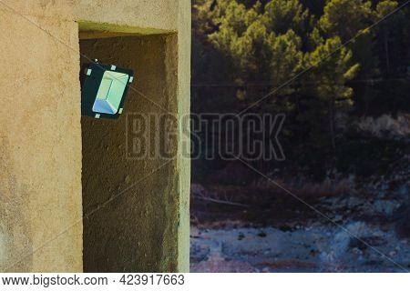 Led Outdoor Lantern Led Lamp. Electrical Light
