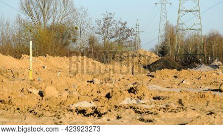 Construction Of A Road That Is Part Of The City Bypass