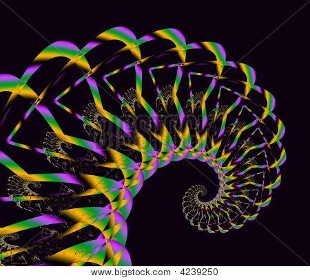 Mardi Gras Curl